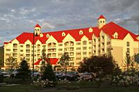River Walk Resort at Loon Mountain, Lincoln, New Hampshire, United States.