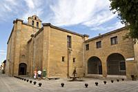 Cistercian monastery in St. Domingo de la Calzada. La Rioja. Spain.