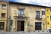 Pilgrim hostel in St. Domingo de la Calzada. La Rioja. Spain.