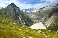 Lauteraarhorn, Swiss Alps.