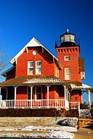 Sea Girt Lighthouse on the Jersey Shore.