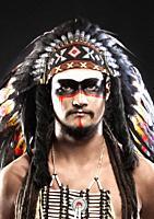 Native American Indian Chief War Bonner Headdress.