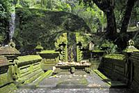 Pura Mengening, Bali, Indonesia is a holy water temple at Tampaksiring, near Ubud. Bali, Indonesia.