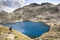 Ibon Azul Baxo, Baños de Panticosa, Pyrenees, Huesca, Spain.