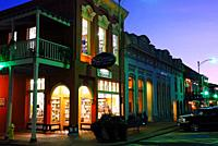 Square Books, a renown independent book store, occupies a prominent corner in Oxford, Mississippi.