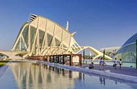 Spain, Valencia City, The City of Arts and Science, Calatrava architect.