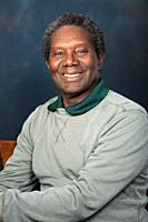 An African American man is proud, confident and expressive in pictures shot in a studio in Spokane, in Eastern Washington.