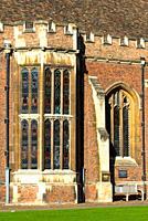 St John's College grounds, Cambridge University, Cambridgeshire, England, UK.