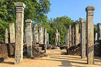 Polonnaruwa, North Central Province, Sri Lanka, Asia.