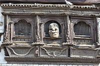 Traditional Newari architecture, Kathmandu, Nepal.