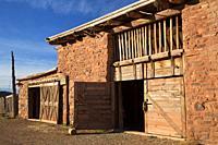 Barn, Hubbell Trading Post National Historic Site, Arizona.