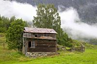 Mountain cabin, Kaupanger, Norway.