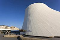 Volcan, Cultural Center by Oscar Niemeyer, Le Havre, Seine-Maritime department, France.