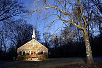 English Chapel United Methodist Church - Pisgah National Forest, Brevard, North Carolina, USA.
