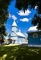 orthodox church, Stary Kornin, Podlaskie Voivodeship, Poland.