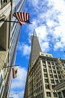 Wells Fargo Bank. Financial district. San Francisco. California, USA