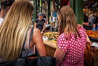 -Borough Market-London (United Kingdom).