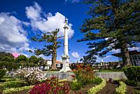 Portugal, Azores, Terceira Island, Praia da Vitoria, Jardim Publico, public garden.