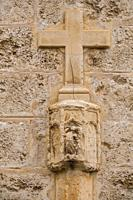 Creu Daurada,documentada en 1515, Llucmajor, Mallorca, balearic islands, Spain.