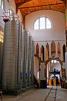 cooperative winery, modernist building by Cesar Martinell, 1919, Gandesa, Catalonia, Spain
