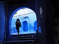blue medina, Chefchaouen, Morocco.
