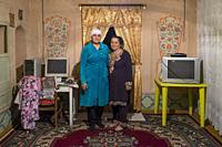 Uzbekistan, Bukhara, woman, portrait.