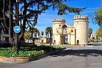 Puerta de Palmas. City of Badajoz. Extremadra. Spain