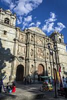 Cathedral of Our Lady of the Assumption, Oaxaca, Mexico.