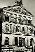The Old Customs House in Bangkok in Thailand in Southeast Asia Far East.