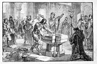 France. Clovis baptism: Clovis ( 466 - 27 November 511) was the first king of the Franks to unite all of the Frankish tribes under one ruler, changing...
