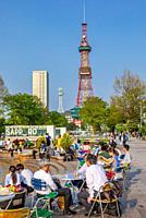 Japan, Sapporo City, Sapporo TV Tower.