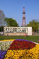 Japan, Sapporo City, Sapporo TV Tower.