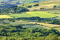 Fforest Fach Cwm Treweryn Brecon Beacons National Park Sennybridge Powys Wales.