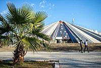 Pyramid of Tirana, Tirana, Albania.