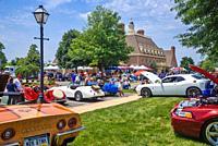 Antique car show , Northeast Philadelphia , PA, USA.