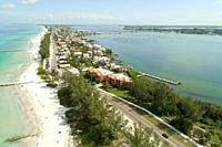 Beaches at Anna Maria Island at Bradenton Florida FL beach.