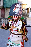 Felo, ancestral mask of Maceda territory, Maceda, Orense, Spain.