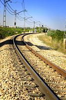 Old train track Valencia, Spain