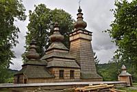 Greek Catholic Parish Church of St. Paraskevi in the village of Kwiaton, commune of Uscie Gorlickie, Gorlice county, Malopolska Province (Lesser Polan...