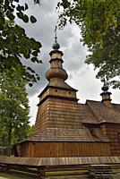 Greek Catholic Filial Church of St. Michael the Archangel in Ropica Gorna, commune of Sekowa, Gorlice county, Malopolska Province (Lesser Poland), Pol...