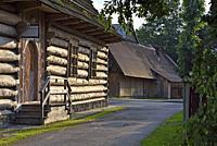 village of Chocholow, Podhale region, Malopolska Province (Lesser Poland), Poland, Central Europe.