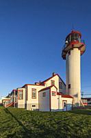 Canada, Quebec, Gaspe Peninsula, Matane, Matane Lighthouse.