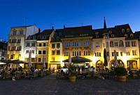 Reunion square, Mulhouse, Haut-Rhin, Grand Est, France.
