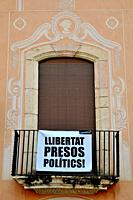Banner for catalan politics liberty.