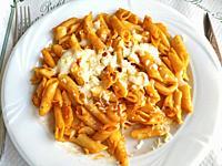 Macaroni with cheese.
