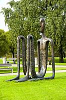 lawn art sculpture Riga, Latviaâ. . s capital, is set on the Baltic Sea at the mouth of the River Daugava. It's considered a cultural center and is ho...