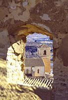 View from the castle. Velez Blanco, Almeria province, Andalucia, Spain.