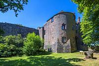 St Briavels Castle, Gloucestershire. , England, United Kingdom, Europe.