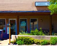 cannabis shop, Santa Fe, New Mexico.