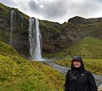 Seljalandsfoss waterfall. South Region. Iceland.